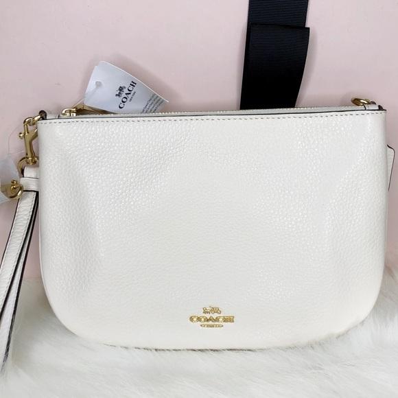 Coach Handbags - Coach NWT White Crossbody Bag